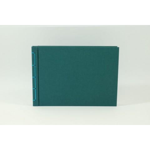 Großes Fotoalbum-petrolblau