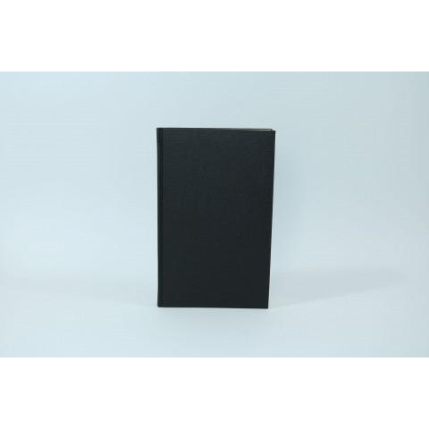 Notizbuch für Lederhülle - schwarz, Ersatz