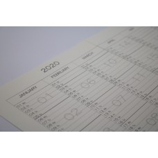 Calendar A4 - 2020