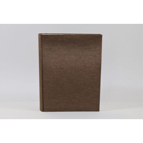 Großes Fotoalbum - Seidenmoiree bronze